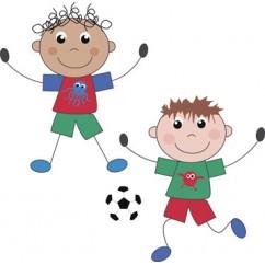 Niños y fútbol