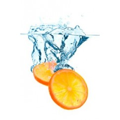 Naranjas sumergidas